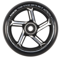 Ethic Acteon Wheels Black/Raw