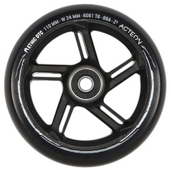 Ethic Acteon 110mm Wheels Black