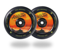 Root Industries Air 120mm Wheels - Sunset - Jamie Addison Signature