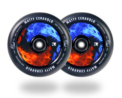 Root Industries Air 120mm Wheels - Fire - Matty Ceravolo Signature