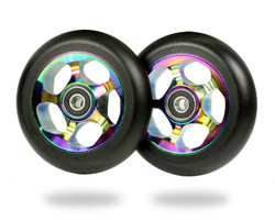 Root  Re-Entry wheels 100mm Black/Rocket fuel