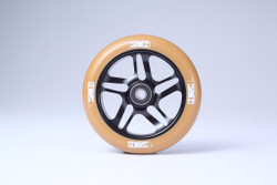 Envy 5 Spoke Wheels 120mm Black/Gum