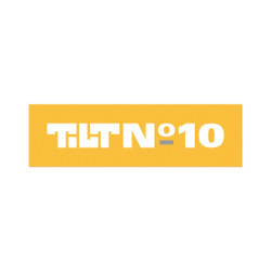 Tilt Ten Year Number Ten Sticker