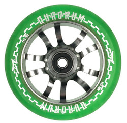 AO Quadrum Wheel - 115mm-Trans Green