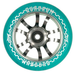 AO Quadrum Wheel - 115mm-Trans BLUE
