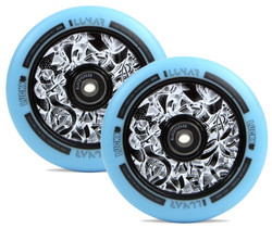 Lucky LUNAR 120mm Wheels Axis Teal (Two Wheels)