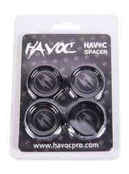 Havoc Bar Spacers Pack Black
