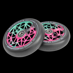Oath Bermuda 120 mm Wheel Green/pink/Black