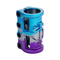 Oath Cage V2 Alloy 4 Bolt SCS Clamp - Blue Purple Titanium