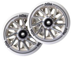 Aztek Ermine Wheels - 110mm x 24mm - White/Ivory