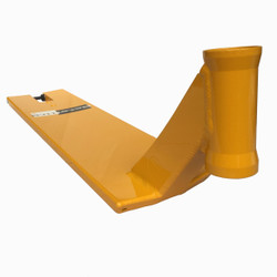 TSI Satellite Scooter Deck Yellow