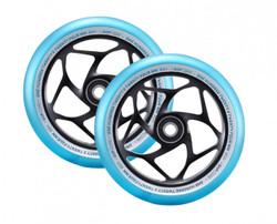Envy Gap Wheels - 120mm - Black/Teal
