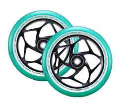 Envy Gap Wheels - 120mm - Black/Jade