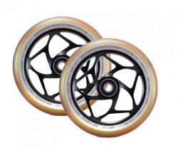 Envy Gap Wheels - 120mm - Black/Gold