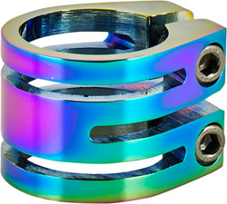 Longway Sector Double Clamp - NeoChrome