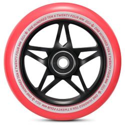 Envy S3 Wheels Black/Red 110mm