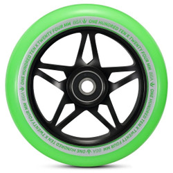 Envy S3 Wheels Green/Black 110mm