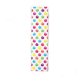 "Hella Grip Classic Logo GripTape -Slot-Dot-Rainbow 24"" x 6"""
