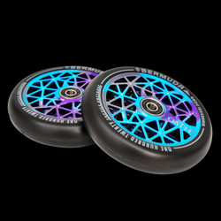 Oath Bermuda 120 mm Wheel Blue/Purple/Titanium
