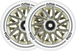Aztek Ermine XL Wheels - 110mm x 30mm - White/Yvory