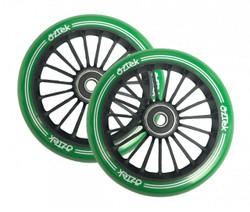 Aztek Architect 110mm - Scooter Wheels Black/Green