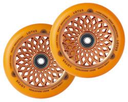 Root Industries - 24mm x 110mm Lotus Wheels- Orange/Orange