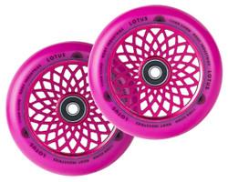 Root Industries - 24mm x 110mm Lotus Wheels- Pink/Pink