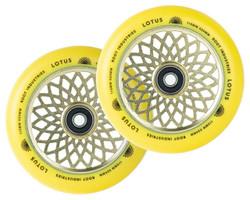 Root Industries - 24mm x 110mm Lotus Wheels- Yellow/Yellow