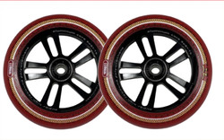 AO Mandala Wheel - 110mm-Black/Red