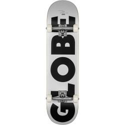 Globe Go Fubar Skateboard 8.0 White/Black