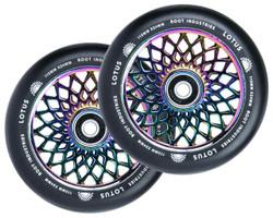 Root Industries - 24mm x 110mm Lotus Wheels- Rocket fuel /Black