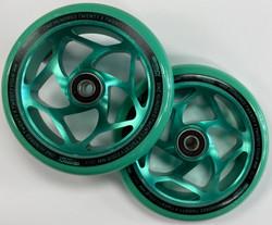 Envy Gap Wheels - 120mm - Green/Green