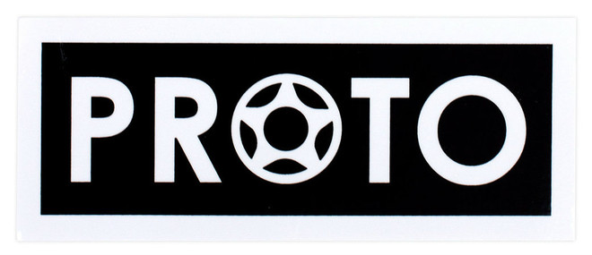 "PROTO Medium Sticker 4"""