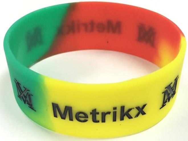 Metrikx Rasta Biggy Wristband