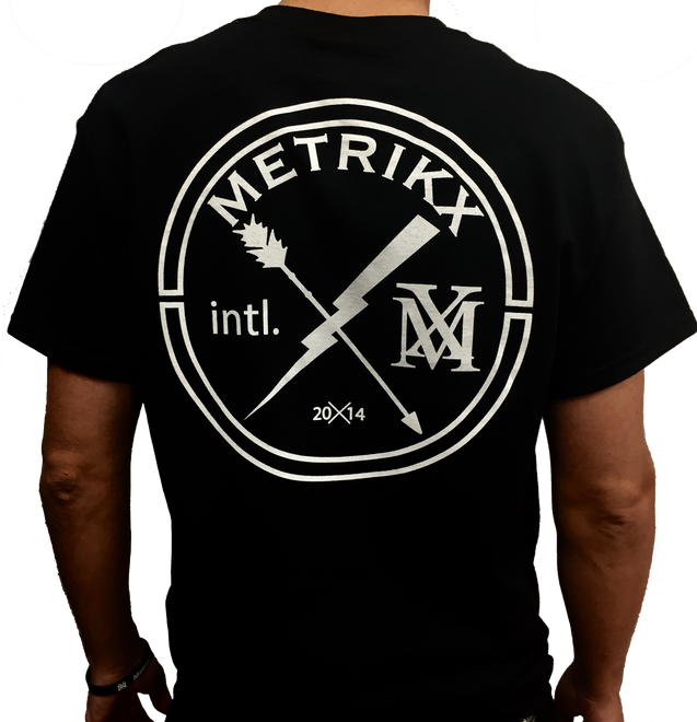 Metrikx Intl. T-Shirt Black