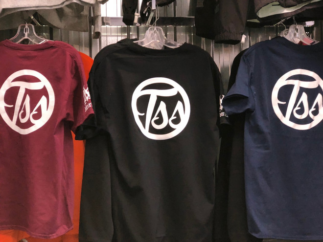 metrikx tss t-shirt 3 colors front back