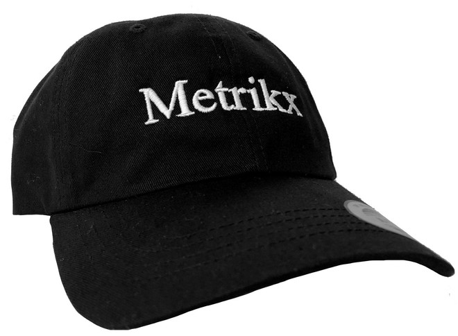 Metrikx Soft Curved Cap Black