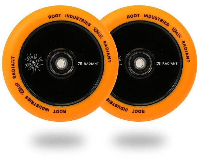 Root Industries Honeycore Radiant 110mm Pro Scooter Wheels 110mm - Orange