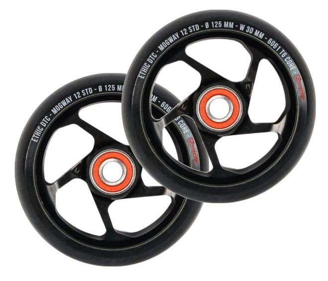 Ethic 12 STD Mogway Wheels 125mm Black