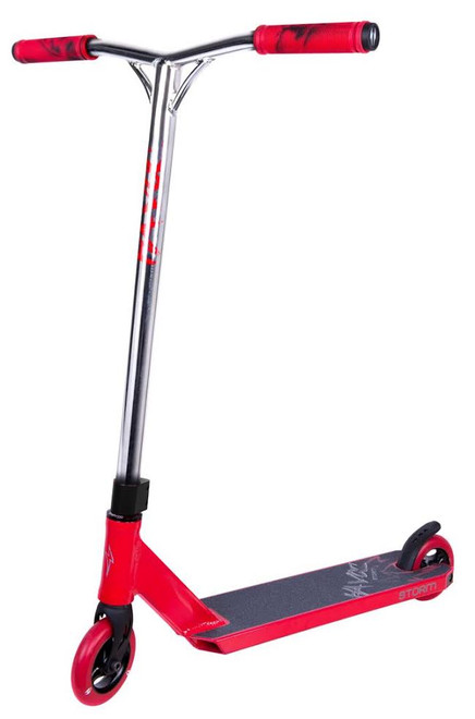 Havoc Storm Complete Scooter 110mm 4.0 Chrome/Red