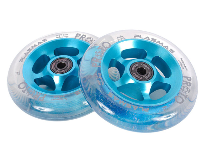 PROTO Plasmas Wheels 110mm  - Electric Blue