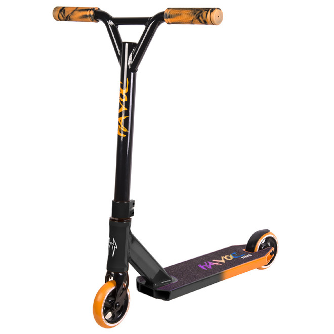 Havoc Mini Complete Scooter 100mm Black/Orange