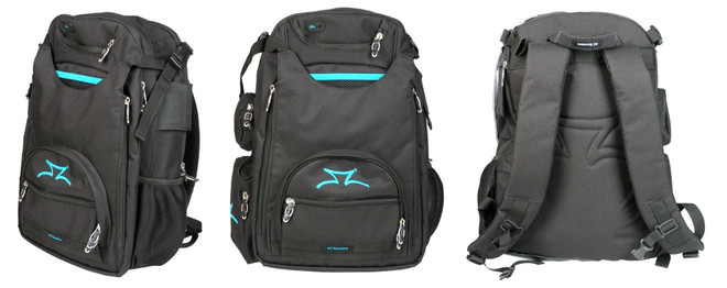 AO  Scooter Transit Backpack  Black/Blue