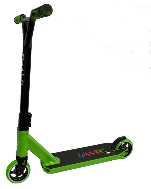 Havoc Mini Complete Scooter 100mm Green