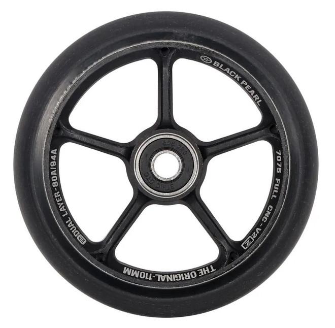 Black Pearl Wheels Original V2 110mm Double Layer Black