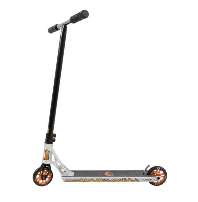 AO Scooters Timo Sturmlin Signature - Scooter Complete-Silver