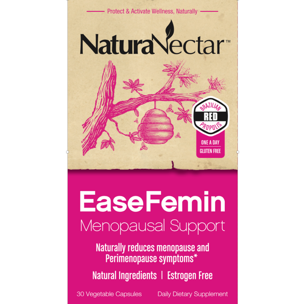 EaseFemin Menopausal Support Front Panel New