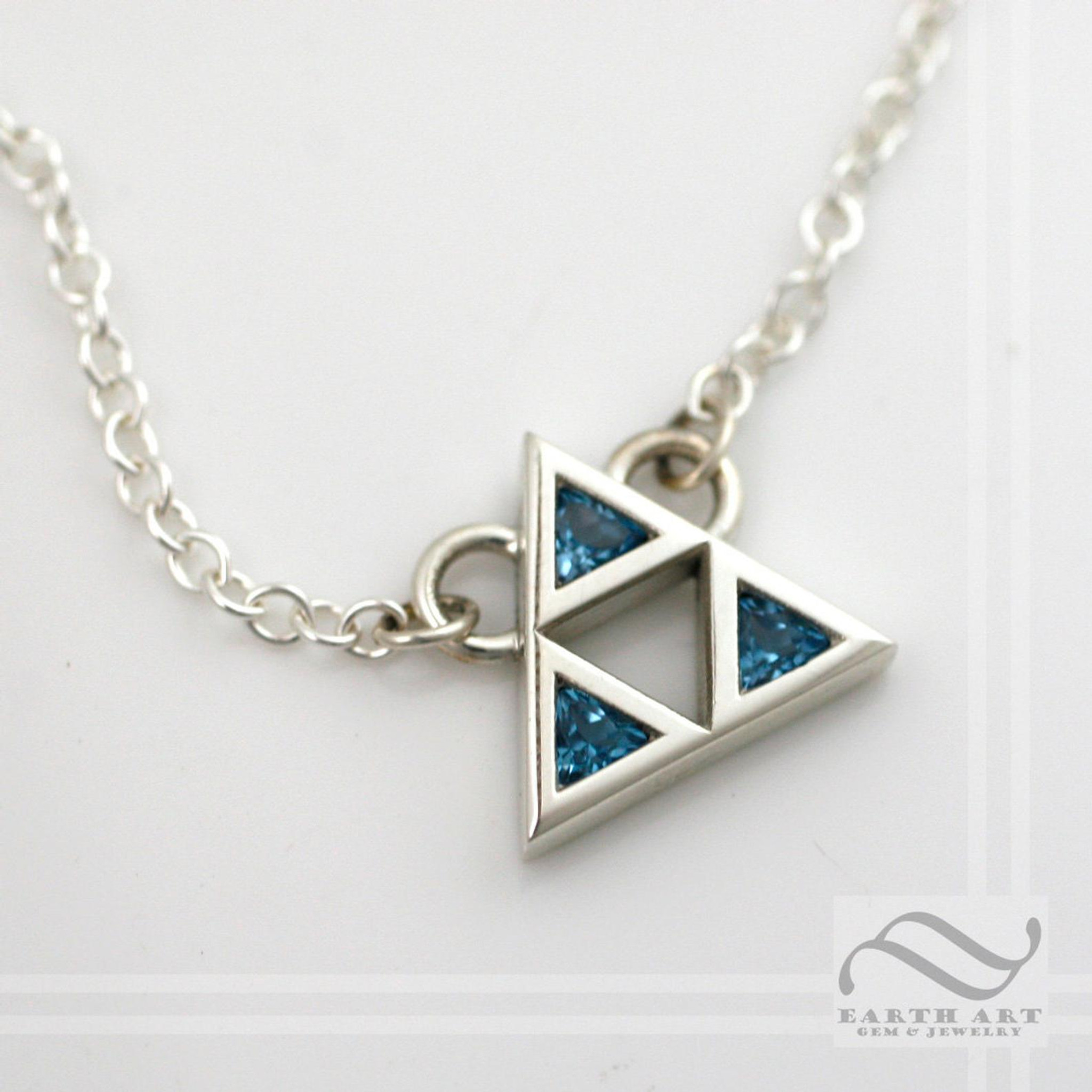 Triforce Artifact (Sterling Silver)