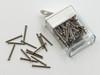 SA164 Rimless Screw Slotted; 1.16mm Thread, 1.9mm Head, 15mm Length