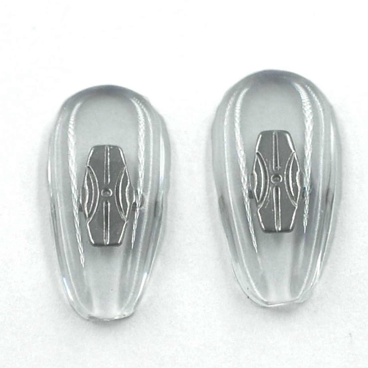 fbdb173917 Crimp-On nose pad 17mm length in Tear-drop shape made from Medium- ...